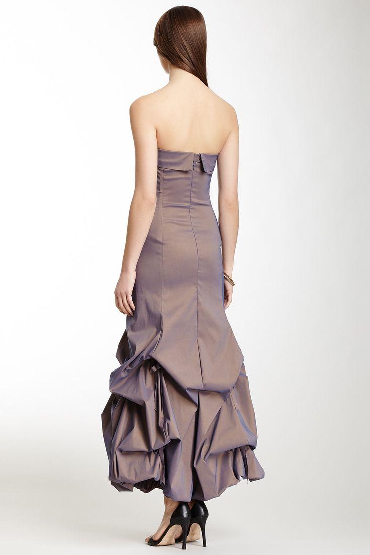 Tafetta Glamour Balloon Dress - Copper