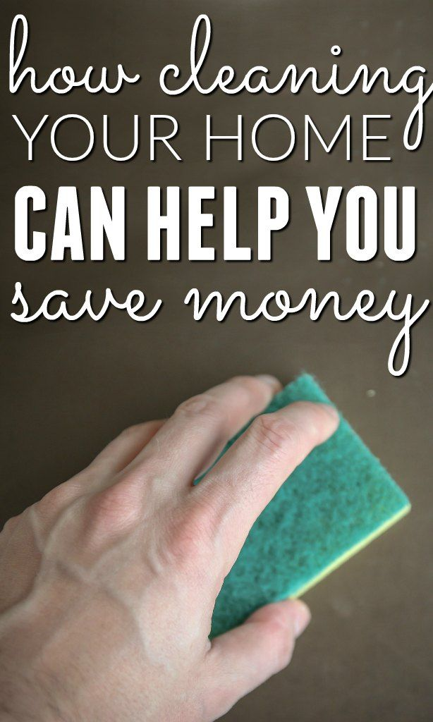 Cleaning your home may not sound like it has anything to do with personal finance, budgeting and saving money but bear with me and I'll show you how it does.