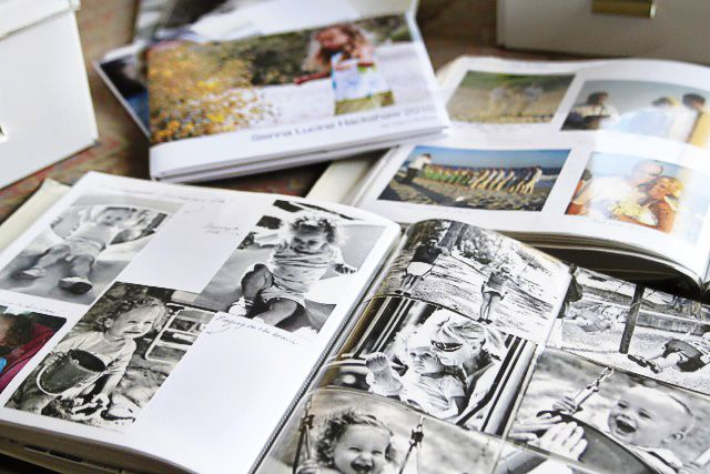 Tips for making photo albums (from the thousands of pictures waiting to be organized, printed, and backed up)