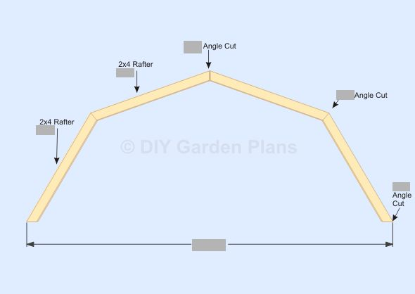 Gambrel Barn Shed Plans Truss Shed Plans Pinterest