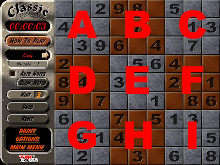 How to Solve Sudoku Puzzles Quickly and Reliably Big