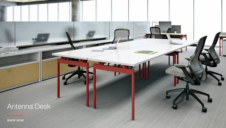 These Antenna Desks from #Knoll are versatile \ perfect for any - bezugsstoffe fur polstermobel umwelt knoll