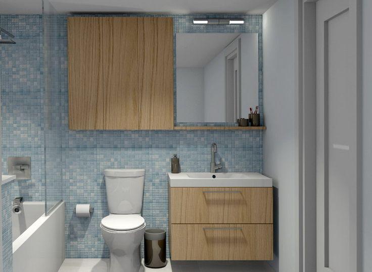 Die besten 25 schmaler badezimmerschrank ideen auf pinterest kleines schmales badezimmer - Schmales badezimmer ...