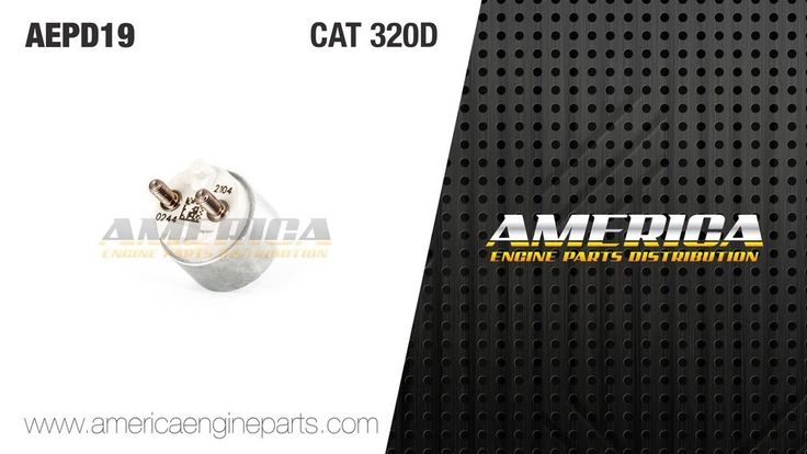 AEPD19 Solenoide / Bobina Tipo CAT 320D Common Rail