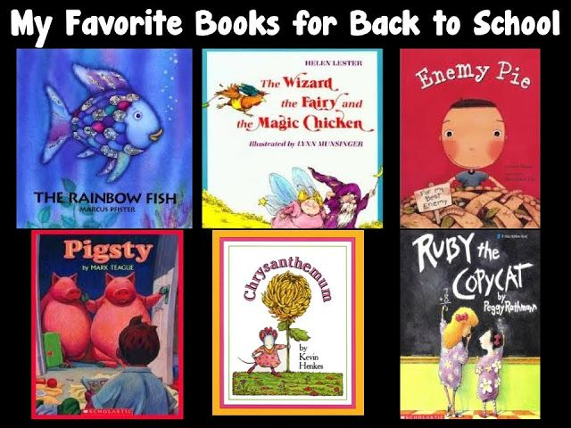 Character Education Books for the Beginning of the Year!