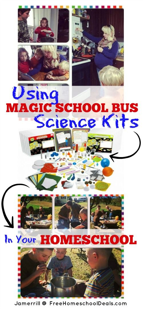 Using Magic School Bus Science Kits in Your Homeschool
