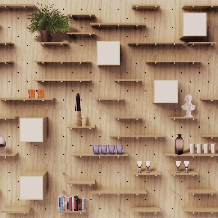 NOMINO WALL customizable shelving system                                                                                                                                                                                 More