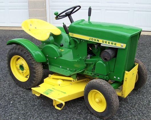 John Deere 110 Garden Tractor | JD 110 Garden Tractor | John Deere MachineFinder