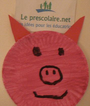 Bricolage d'un cochon