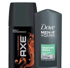 Free Sample of Dove Men+Care Body Wash and Axe Body Spray!