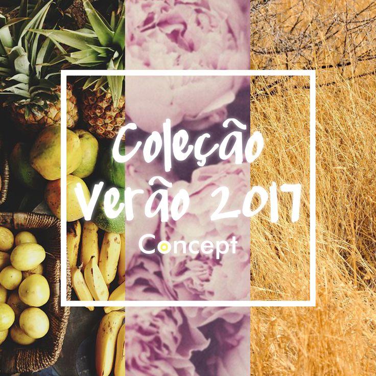 COLEÇÃO VERÃO 2017 - CONCEPT