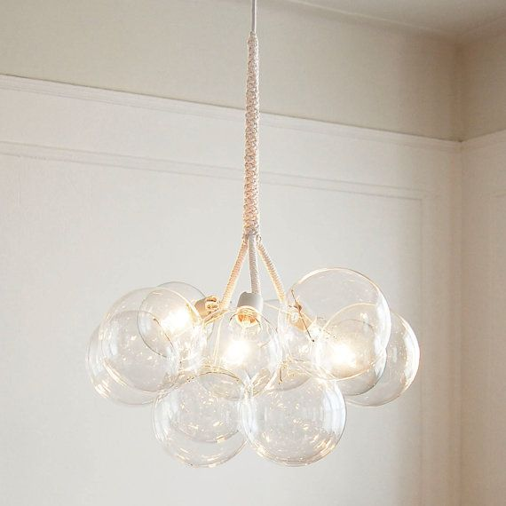 Large Bubble Chandelier by PELLE by PELLEshop on Etsy, $1150.00