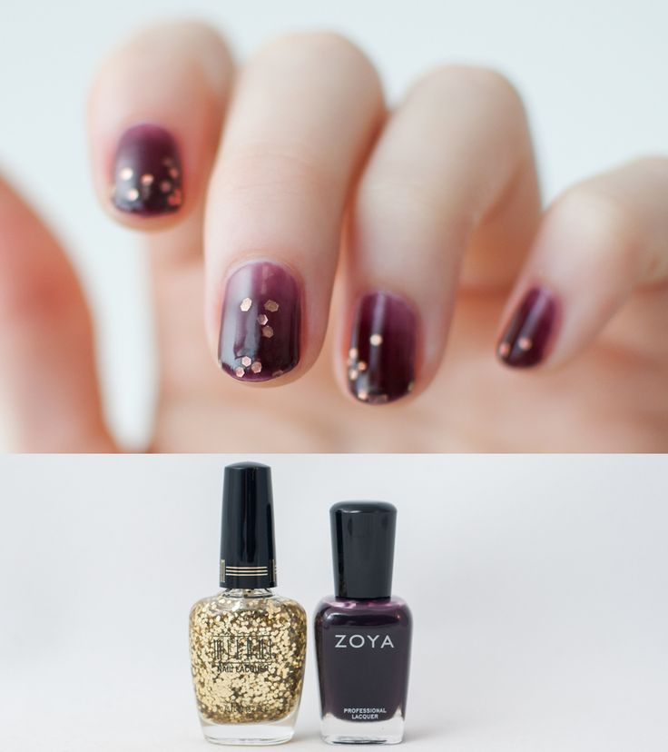 Polish Hound: Fall-Inspired Syrup Mani/ Jelly Sandwich [Nail Art]