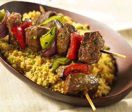Arabic Food Recipes: Moroccan Beef Brochettes Recipe