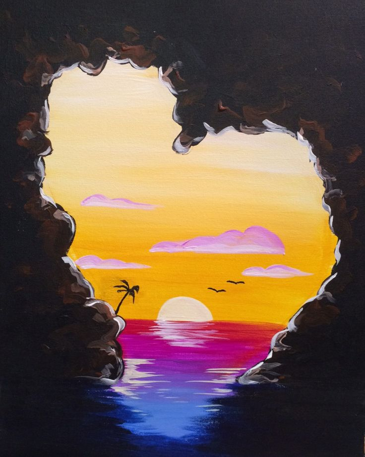 Take a glimpse and be inspired by the paintings you could create during your next visit to Pinot's Palette.
