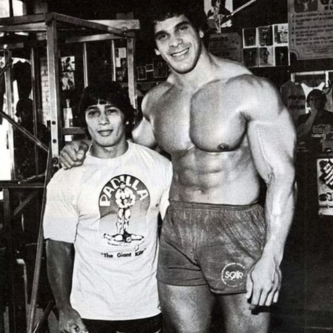 Danny Padilla and Lou Ferrigno. Lou was one of the tallest bodybuilder and padilla was the shortest! #igfitness #muscleandhealth #fitlife #traininsane #alphasfuck #boom #certifiedlifters #certifiedmuscle #alphamale #neversettle #beautiful #cute #love #beauty #fitspiration #loveit #selfie #body #brunette #girl #sport #style #girls #shredded #fashion #aesthetics #instagramfitness #ig_fitness_freaks #squats #fitnessmotivation