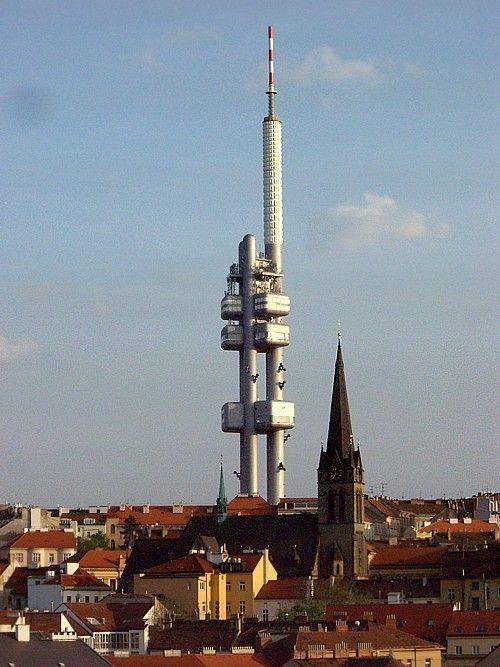 Prague, Žižkov teletower