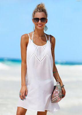 Blanco com vestidos 2019