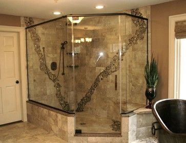 Pebble Stone Mosaic Tile Bathroom Pebble Mosaic Tile Design Ideas