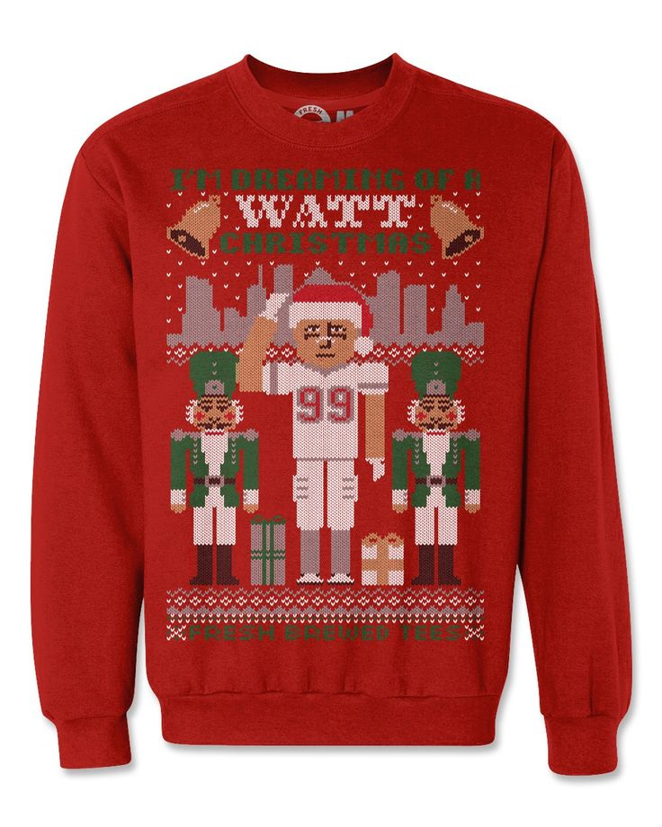 JJ Watt Nutcracker Ugly Christmas Sweater. I need this in my life