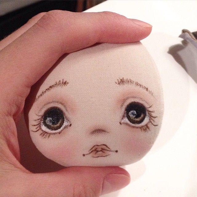Что то у меня одни головы) не все из них станут куклами, у меня жесткий отбор…