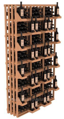 "Wooden 312 Bottle Rectangular Bin Wall Display Wine Cellar Rack Storage Kit(Mahogany) by Wine Racks America®. $969.66. 1 3/8"" Toe Kick Standard: We lift our racks up higher so your bottles are not sitting on the floor. Create endless wine displays and aisle ways. 100% Lifetime Warranty backed by our Price Match Guarantee!. Easy-edge Bottle Holders: Measuring 11/16"" x 11/16"" x 12 5/16"" long - thicker and longer than the competition and your wine bottle labels w..."