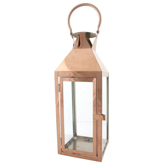 Continuing our copper crush with this modern lantern perfect trend for Spring