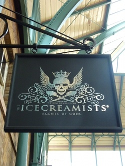 Superb ice creams from Covent Garden. Choose something special, then go and watch one of the great street entertainers on the Plaza