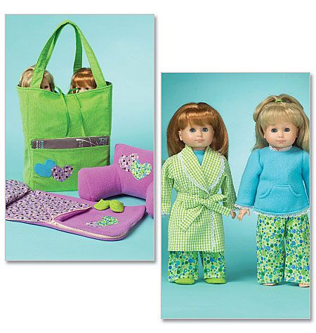 mccalls pattern: Sleep Bags, Girls Dolls, American Dolls, Mccall Patterns, Sleeping Bags, Bags Patterns, Ag Dolls, Dolls Clothing Patterns, Dolls Patterns