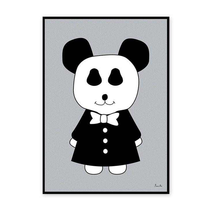 Poster Mr. Panda by Miniwilla