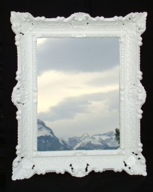spiegel barock wandspiegel 57x47 neu verpackt uvp 89 90 in. Black Bedroom Furniture Sets. Home Design Ideas