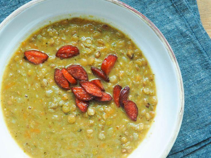 Čočková polévka spárkem | Oh My Chef