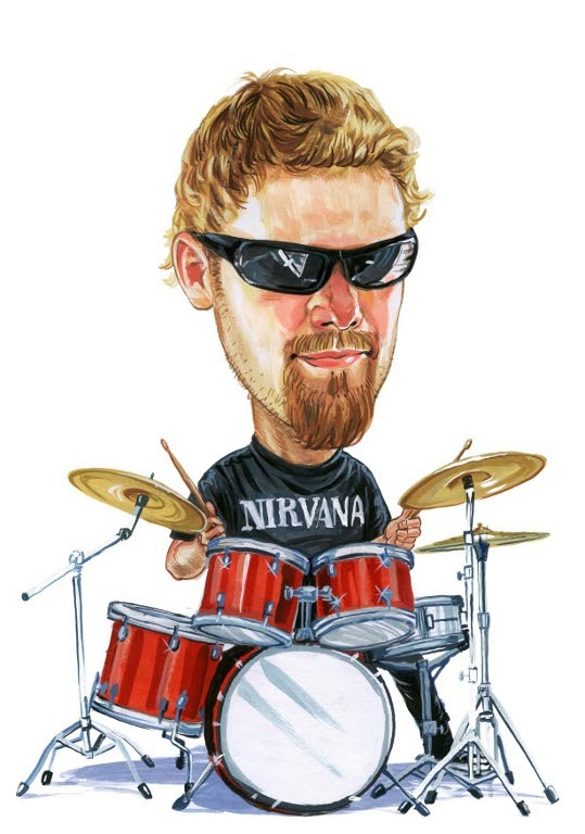 Смешная картинка барабанщик