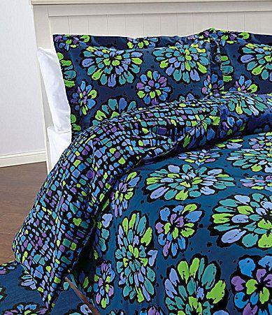 Vera Bradley Indigo Pop Bedding I Want This So Bad My