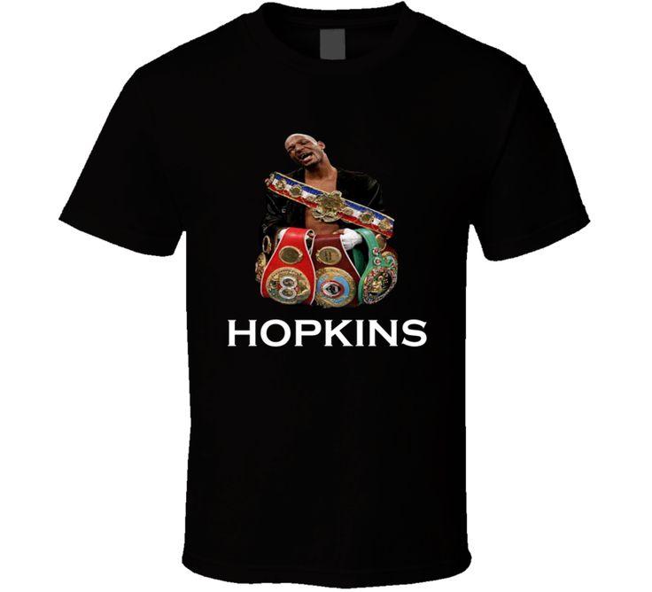Bernard Hopkins BHop The Executioner Legend Champion Boxing T Shirt