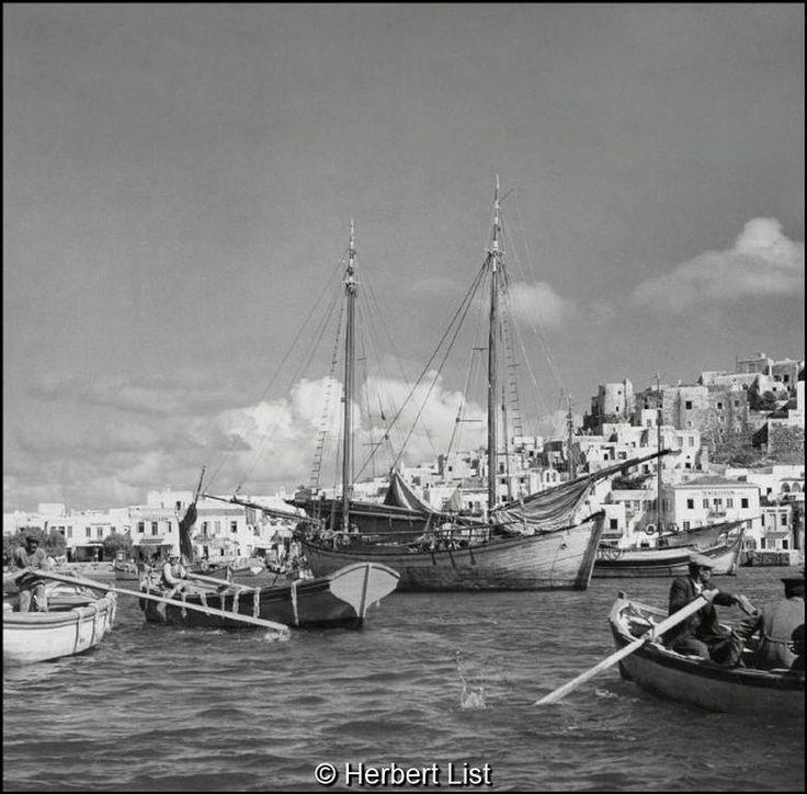 Herbet List Νάξος, στο λιμάνι, 1937