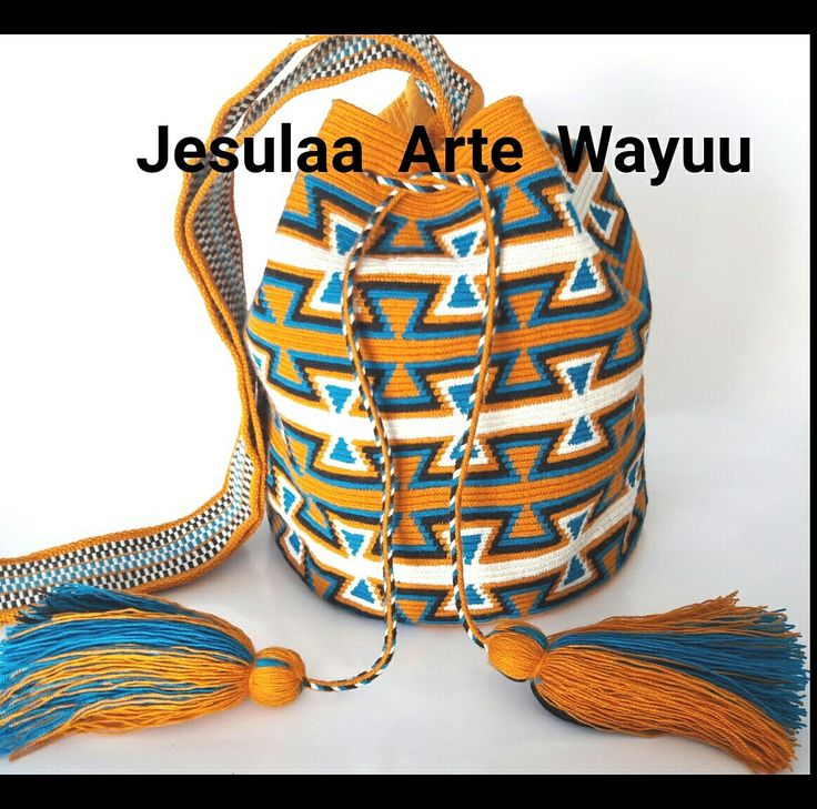 Wayuu bag geometric traditional desing