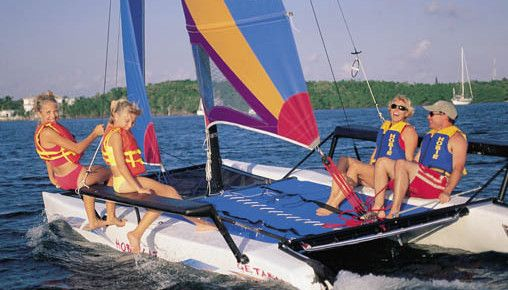 Sailboat Rentals in Panama City Beach, Florida