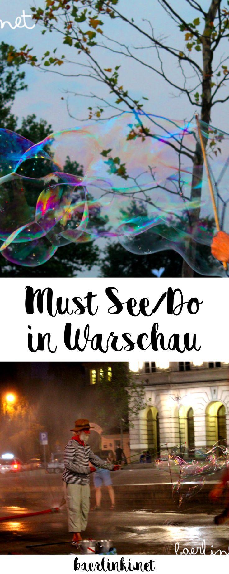 So besiegt man Hitze in Warschau: Die Stadt stellt öffentliche Sprinkler auf, Seifenblasentherapeuten machen kleine Kinder glücklich und farbenfrohe Fontänen bezaubern die Stadt ...