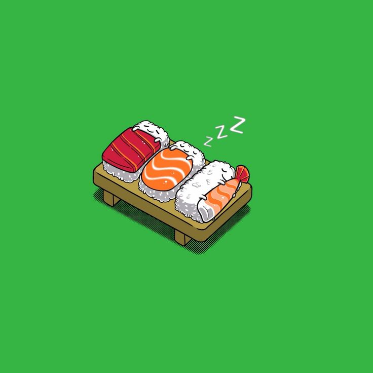 Sleeping Sushi wallpaper for all iPad from mobile9.com