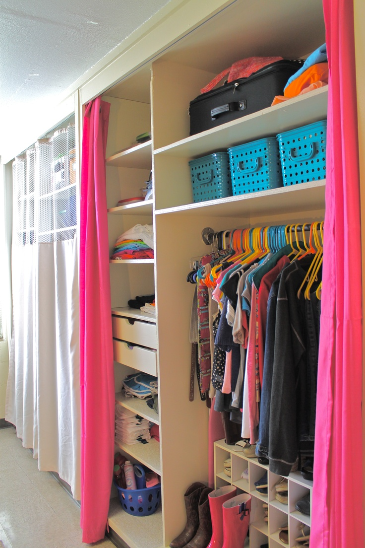 My Dorm Room Uga College Life Pinterest Closet Organization Room Closet And Dorm Room