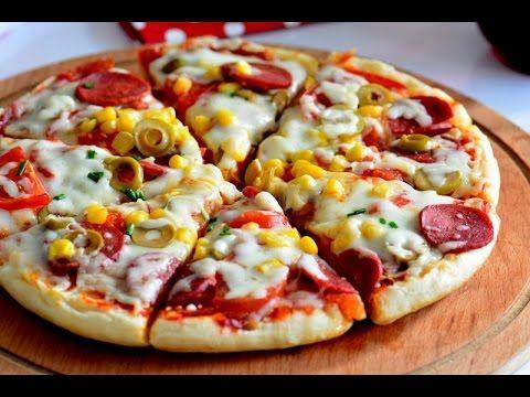 Bazlamadan Pratik Pizza, Videolu ,  #bazlamapizza #bazlamadanpizzatarifi #bazlamadanpratikpizzatarifi #bazlamalıpizza #evyapımıpizzatarifi , Pratik olarak hemen hazırlayacağınız güzel bir lezzet. Yapılışı çok kolay. Ve evde bulunan malzemelerden yapabilirsiniz. Kahvaltılarınız ...
