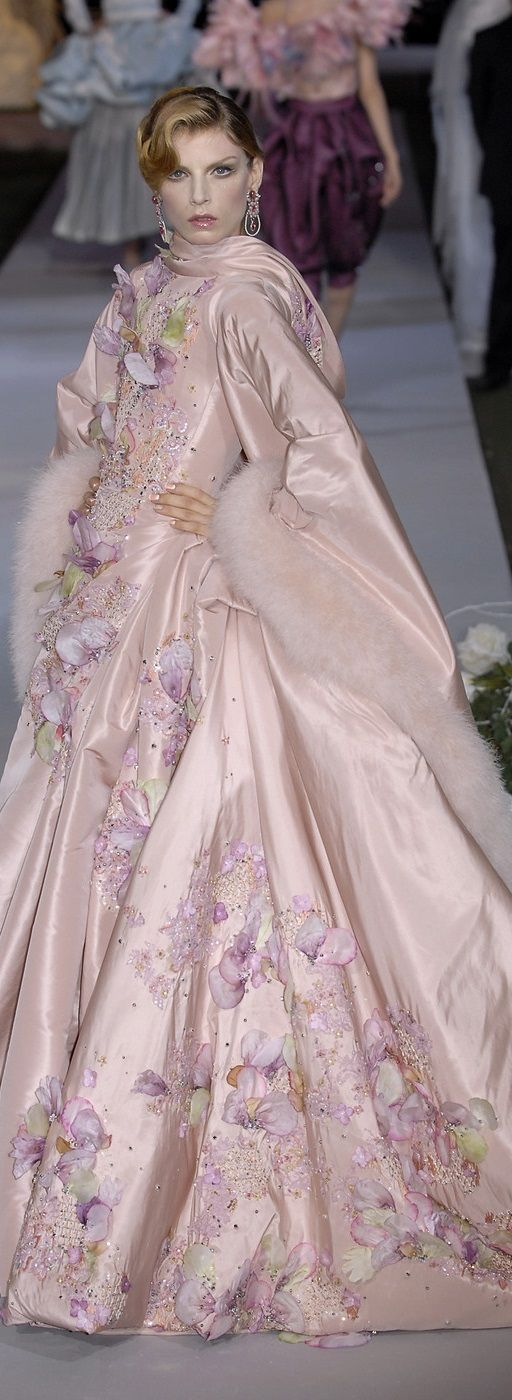 Christian Dior by John Galliano Fashion show details