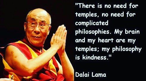 Today is World Kindness Day. His Holiness the Dalai Lama is a great example of patience, love & kindness on earth. �������� #kind #kindness #bekind #worldkindnessday #peace #peaceful #love #loving #patience #calm #philosophy #meditation #thought #thoughtoftheday #soul #mind #dalailama #holy #legend #hero #leader #philosophy #happy #positive #positivevibes #meditation #wellbeing http://quotags.net/ipost/1647226342511374558/?code=BbcH6GSDnDe