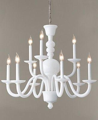 milk glass chandelier  DIY an old brass chandelier using flat white spray paint