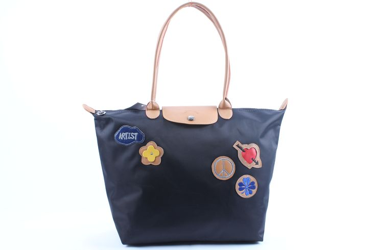 Popular Portable Longchamp Le Pliage Love Bags Midiumblue