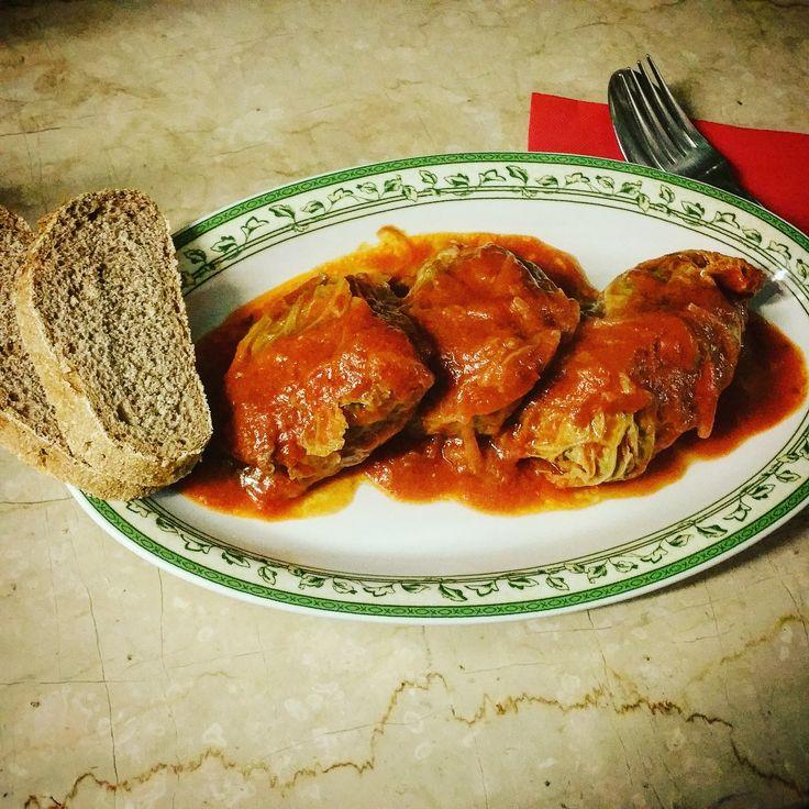 #Involtini di verza in umido #ricetta #recipe #tomato #pomodoro #italianrecipe