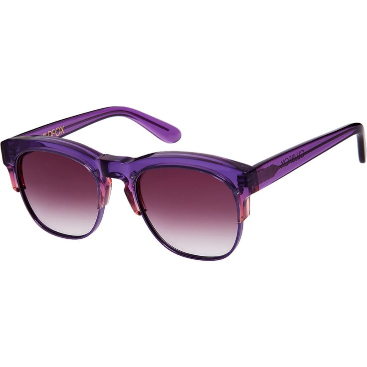 """Wild Fox"" Purple Club Master Sunglasses - TK Maxx"