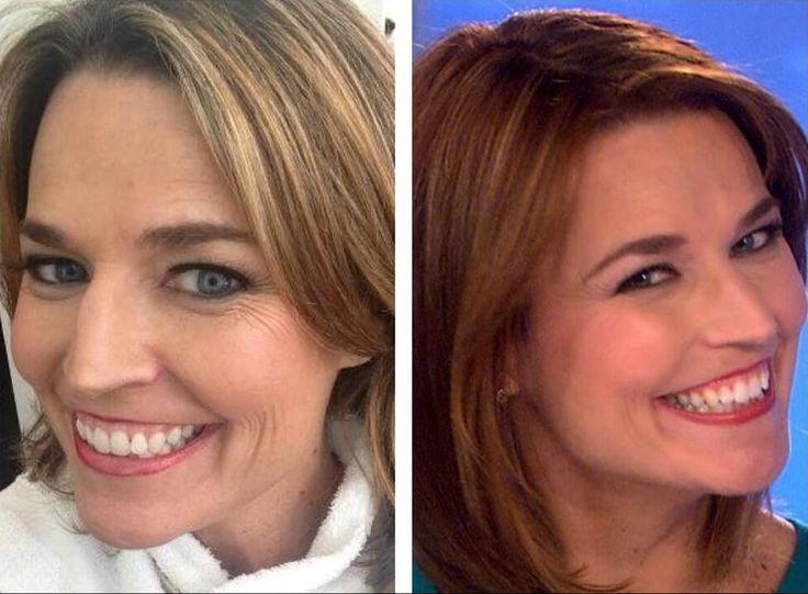 Savannah Guthrie's hair has viewers seeing red