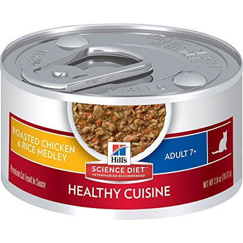 Hill's Science Diet Adult 7  Healthy Cuisine Roasted Chicken